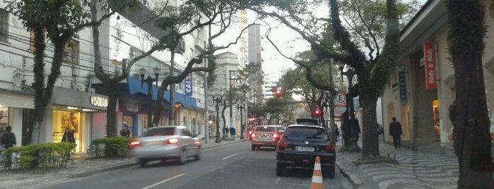 Rua Comendador Araújo is one of Curitiba.