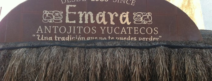 Emara Antojitos Yucatecos is one of Cancún.