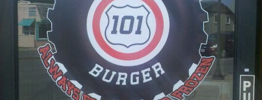 Hwy 101 Burger is one of Lincoln City.