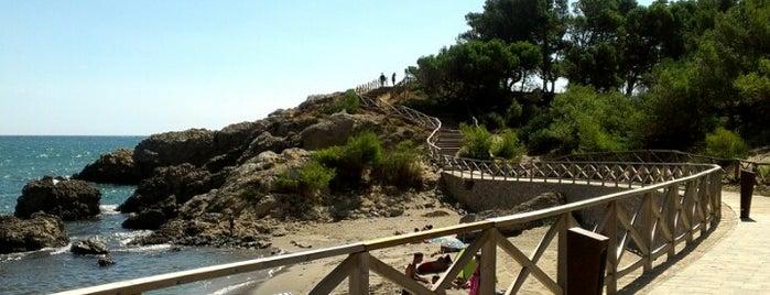 Platja Mar d'en Manassa (cala) is one of Playas de España: Cataluña.