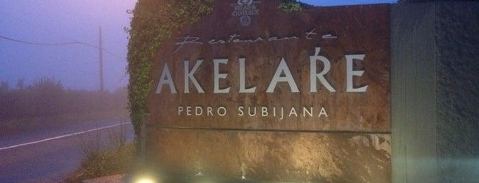 Restaurante Akelare is one of 3* Star* Restaurants*.