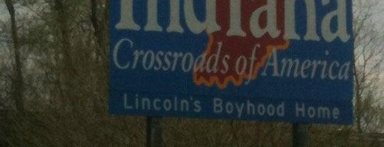 Welcome To Indiana Sign is one of Josh : понравившиеся места.
