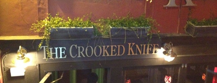 CK14 - The Crooked Knife is one of USA - NEW YORK - BAR / RESTAURANTS.