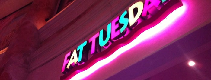 Fat Tuesday is one of Las Vegas.