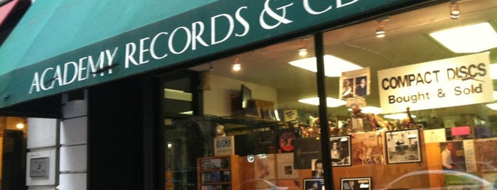 Academy Records & CDs is one of Vinyls.