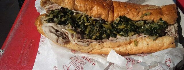 Tony Luke's is one of Philly Spots.