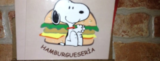 Snoopy is one of Sandwich & Burger.