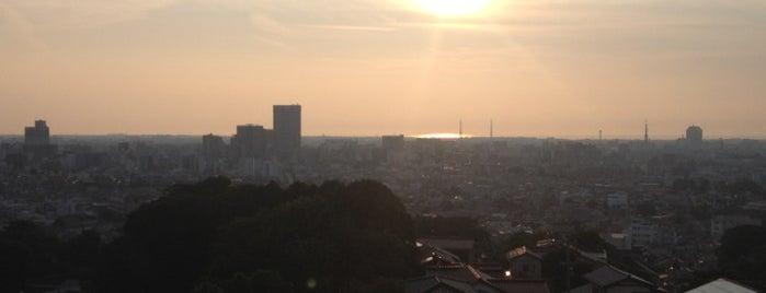 卯辰山公園 is one of 日本夜景遺産.
