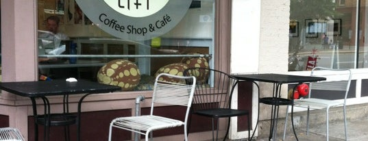 Lift Coffee Shop & Café is one of Yum in RVA.