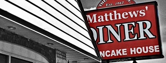Matthews Diner is one of worth re-exploring.