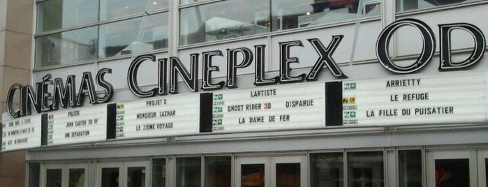 Cinéma Cineplex Odeon Quartier Latin is one of Quartier des Spectacles.