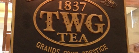 TWG Tea Salon & Boutique is one of Top picks for Cafés & Bars.