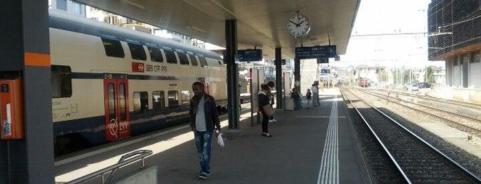 Bahnhof Thalwil is one of schon gemacht 2.
