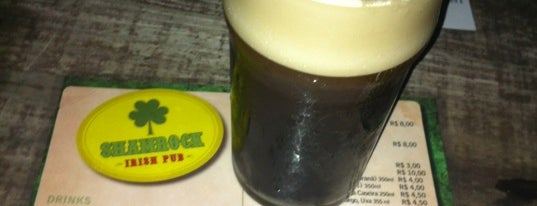 Shamrock Irish Pub is one of Lugares favoritos de Frederico.