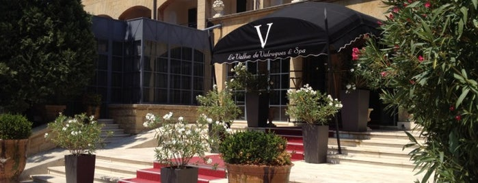 Hôtel le Vallon de Valrugues & Spa is one of Provence adresses.