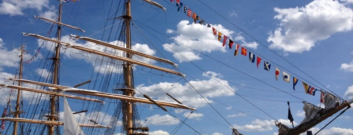 USCGC Eagle is one of favs.