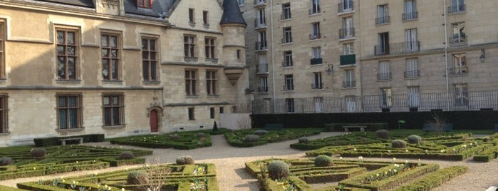 Jardin de l'Hôtel de Sens is one of TMP.