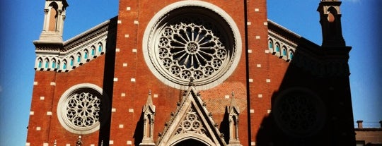 Iglesia de San Antonio de Padua is one of Istanbul City Guide.