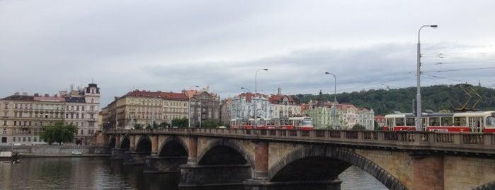 Palacký-Brücke is one of StorefrontSticker #4sqCities: Prague.