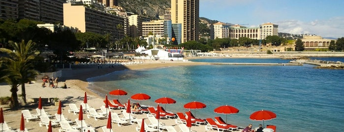 Plage du Larvotto is one of Monte Carlo.