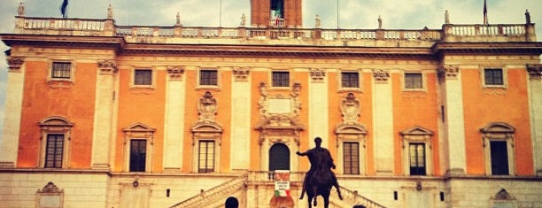 Piazza del Campidoglio is one of SmartTrip в Рим с детьми.