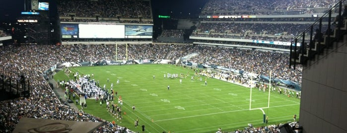 Lincoln Financial Field is one of US Pro Sports Stadiums - ALL.