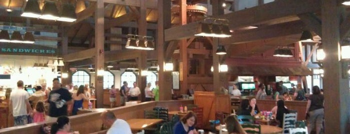 Riverside Mill Food Court is one of Disney Dining.