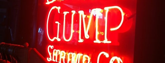 Bubba Gump Shrimp Co. is one of Robert.