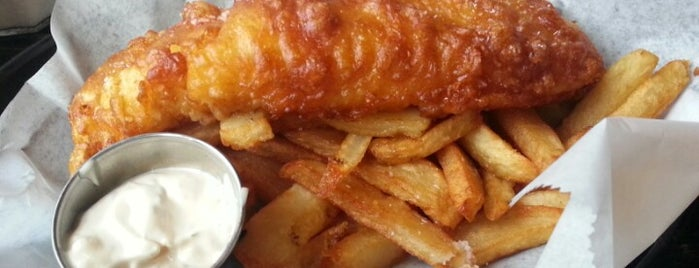 The Anchor Fish & Chips is one of Back Home in Minneapolis.