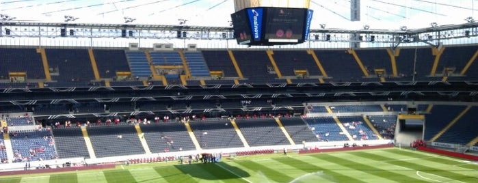Commerzbank-Arena is one of Stadiums I've been to.