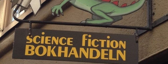 Science Fiction Bokhandeln is one of Orte, die Fredrik gefallen.