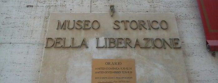 Museo Storico della Liberazione di Roma is one of Rome.