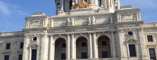 Minnesota State Capitol is one of The Crowe Footsteps.