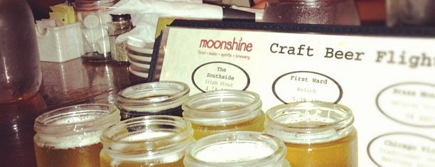 Moonshine is one of Solid Chicago craftbeer venues.