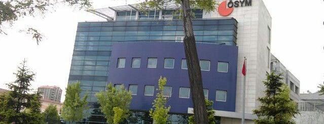 ÖSYM Ankara Sınav Koordinatörlüğü is one of Tempat yang Disukai Uğur.