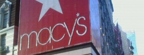 Macy's is one of I ❤ NY.