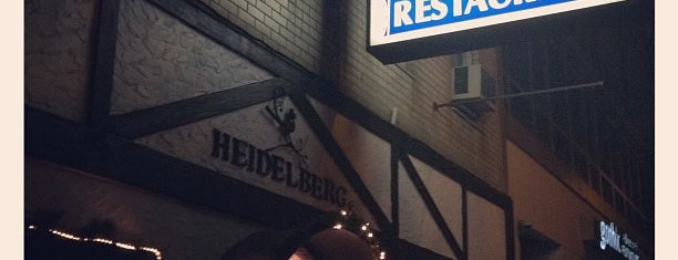 Heidelberg Restaurant is one of eats i want.