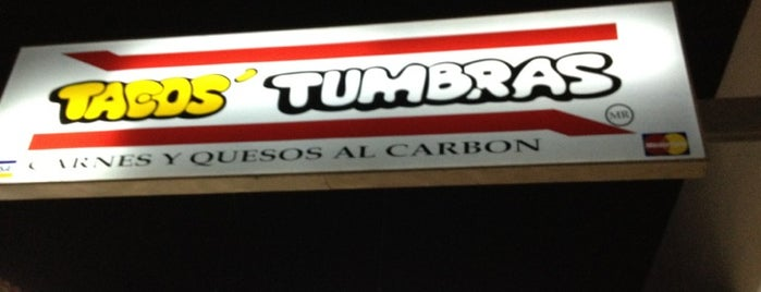Tacos' Tumbras is one of Locais curtidos por Federico.