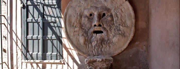 Bocca della Verità is one of Rome Cinema Inspirations with Louis Vuitton.