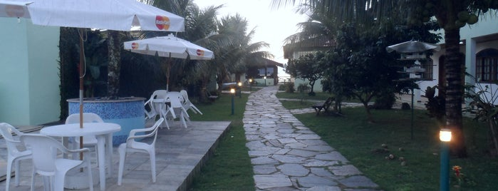 Pousada Recreio da Praia is one of Tempat yang Disukai Ines.