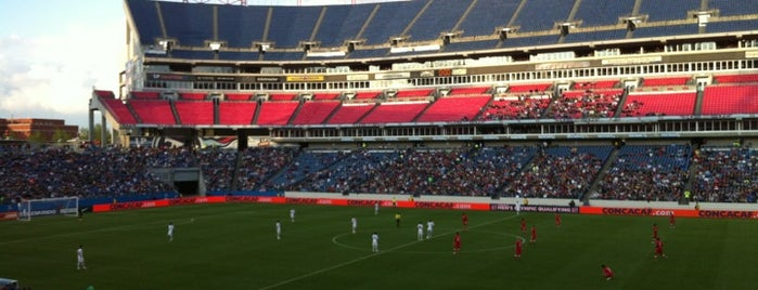 Nissan Stadium is one of Sporting Venues.