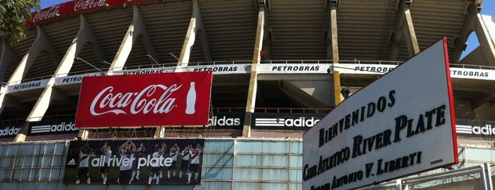 "Estadio Antonio Vespucio Liberti ""Monumental"" (Club Atlético River Plate) is one of Best Stadiums."