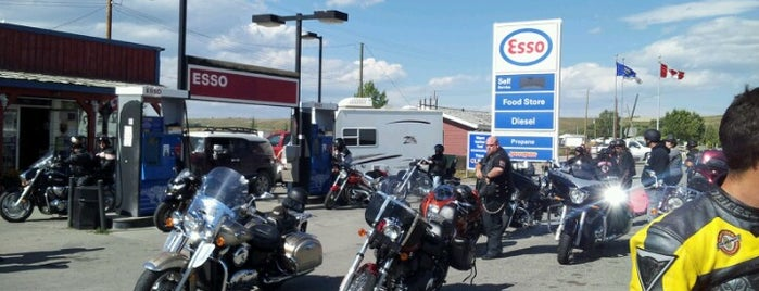 Longview Esso is one of Vern's Liked Places.