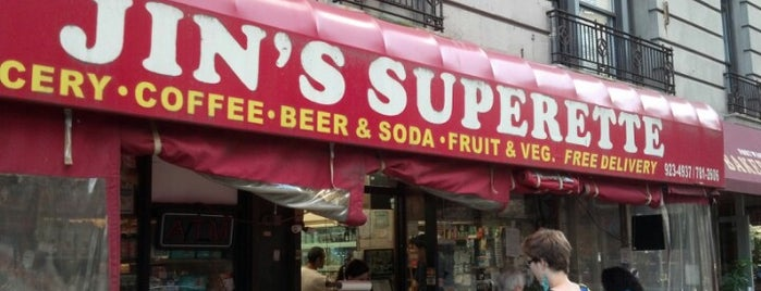 Jin's Superette is one of Utility.