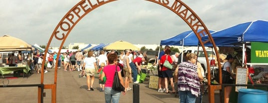 Coppell Farmers Market is one of Lugares favoritos de Sirus.