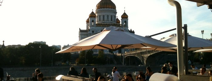 Bar Strelka is one of Moscow!.
