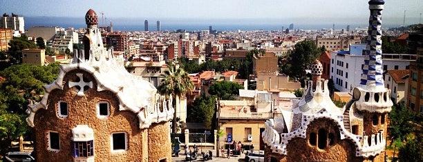 Парк Гуэль is one of Budget Barcelona.
