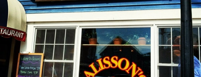 Alisson's Restaurant is one of Maine.