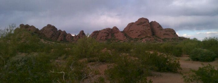 Papago Park- West Park Trailhead is one of Phoenix Points of Pride.