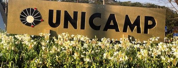Universidade Estadual de Campinas (UNICAMP) is one of Meus Lugares.